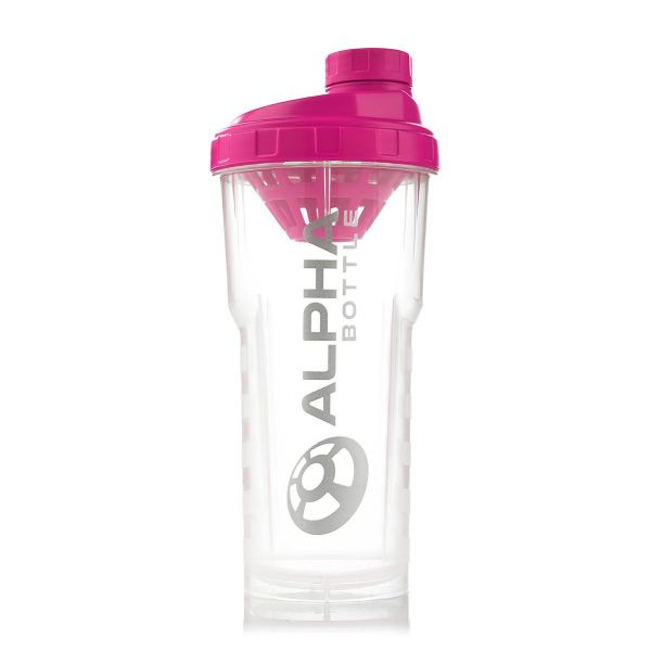 Alpha Designs - Bottle Shaker 750ml pink
