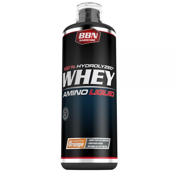 Best Body Nutrition - Whey Amino Liquid, Orange - 1000ml Flasche