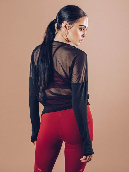 Workout Empire - Power by Herrstedt Longsleeve, black