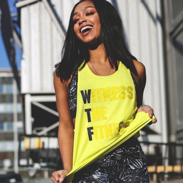Workout Empire - WTF Tank, yellow