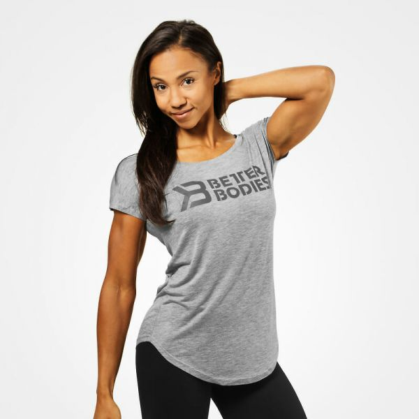 Better Bodies - Gracie T-Shirt, grey