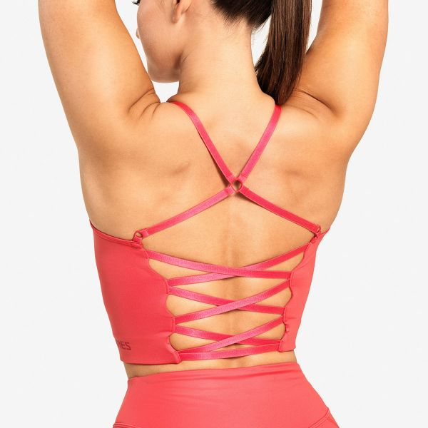 Better Bodies - Vesey Strap Top, coral