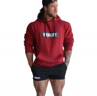 FKN Gym Wear - Men's FKNLIFT Hoodie, maroon