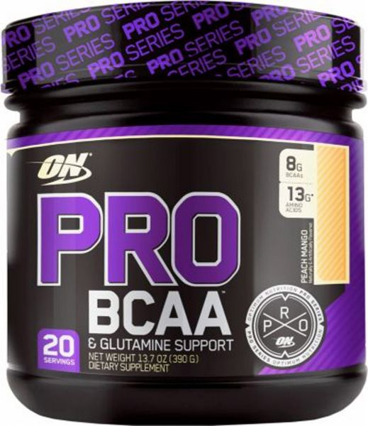 Optimum Nutrition - Pro BCAA & Glutamine Support, 390g Dose