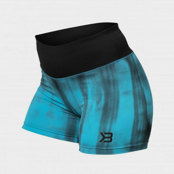 Better Bodies - Grunge Shorts, aqua blue