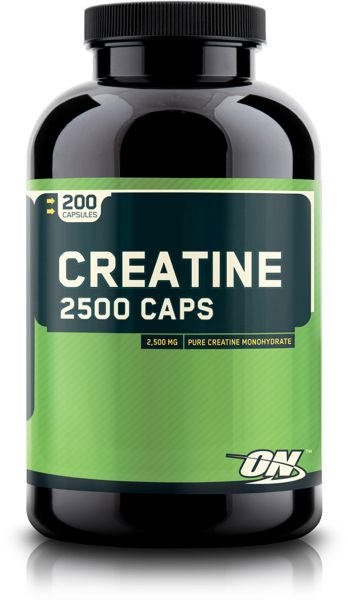 Optimum Nutrition - Creatine 2500, 200 Kapseln