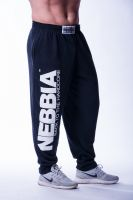 Nebbia - Hardcore Fitness Sweatpants, schwarz
