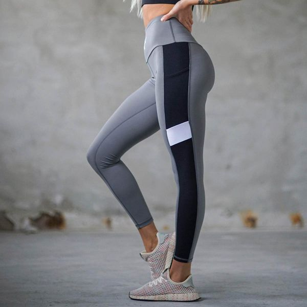 Bara Sportswear - Charcoal Core Tights, dark grey