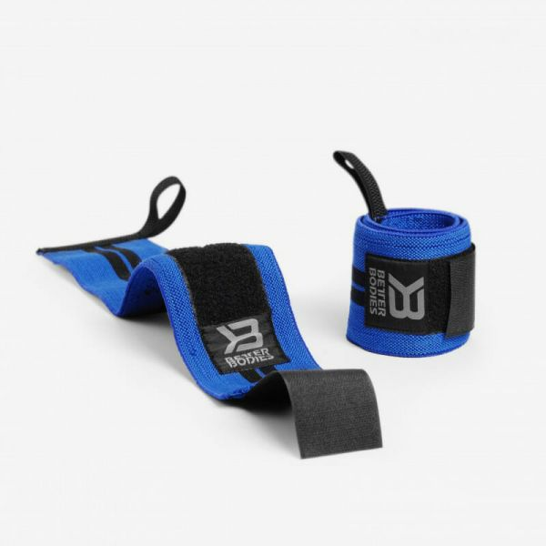 Better Bodies - Wrist Wrap 18 Inch, strong blue