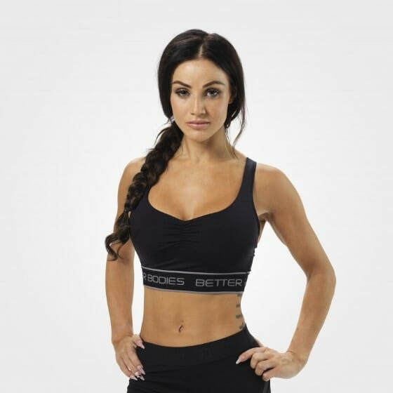 Better Bodies - Athlete Short Top/Bra, schwarz