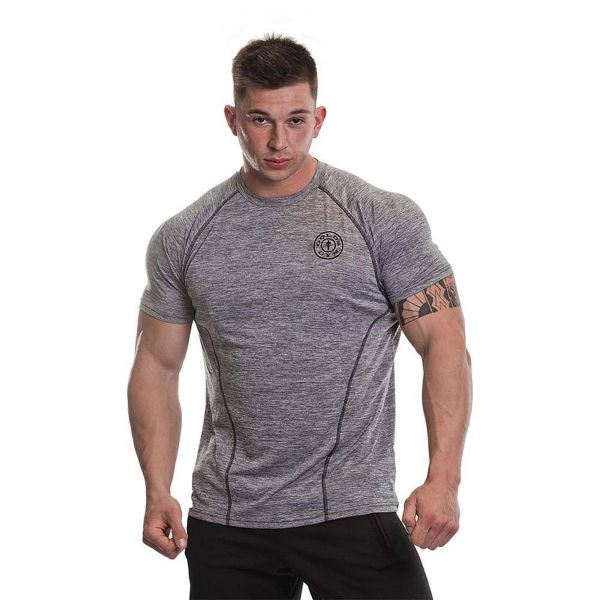 Gold's Gym - Performance T-Shirt with Raglan Sleeves, grey