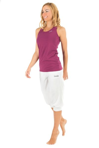 Winshape - Luftig-legere 3-4-High Waist-Trainingshose WBE12, weiss