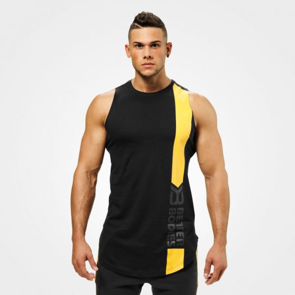 Better Bodies - Stanton Muscle Tank, washed black