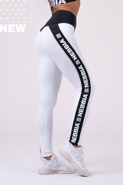 Nebbia - Power your Hero Iconic Leggings, weiss