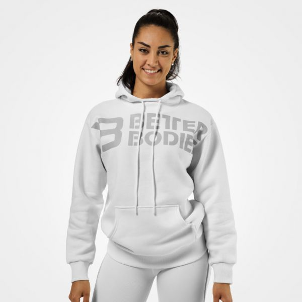 Better Bodies - Chrystie Hoodie, weiss