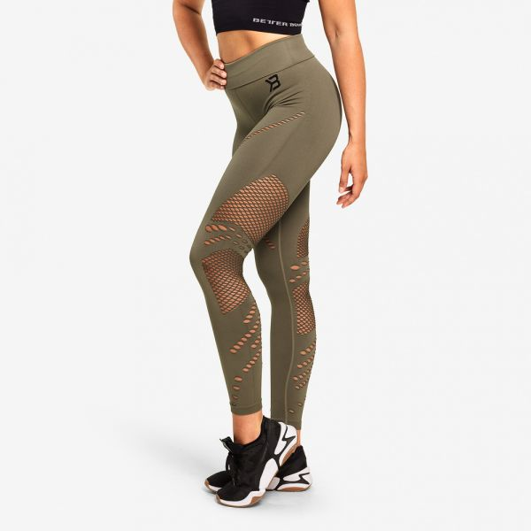 Better Bodies - Waverly Tights Leggings, washed green
