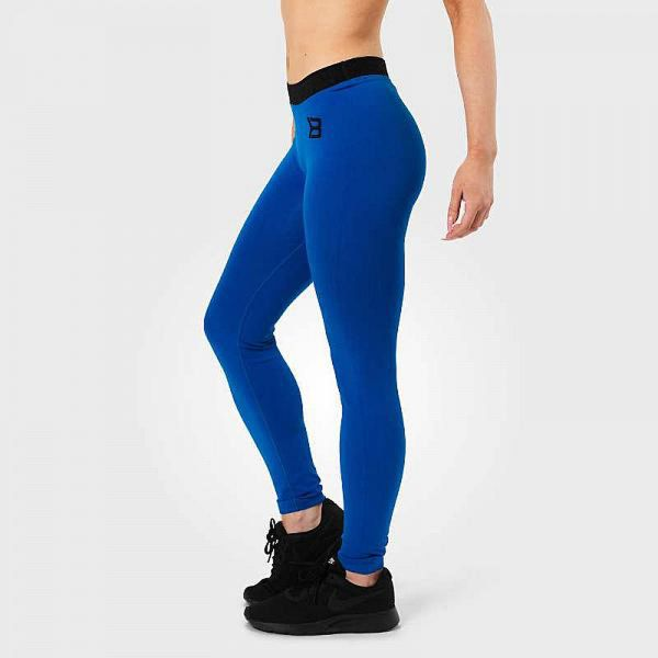Better Bodies - Astoria Curve Tights, strong blue