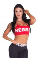 Nebbia - Hostess Mini Top Sport BH, rot