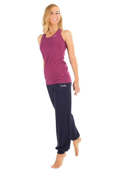Winshape - Tanktop WVR32 mit offenem Drop Back Design, berry love