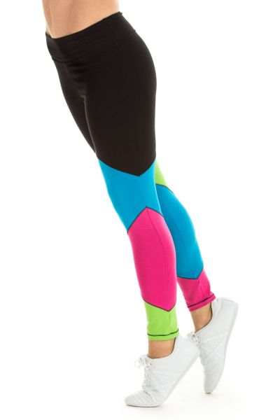 "Winshape - ""Go for Your Colour"" Long Tights WTL12, rainbow"