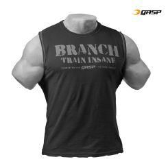 Gasp - Branch SPP Muscle Tank Top, schwarz