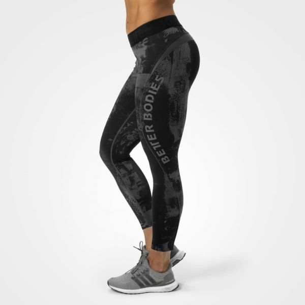 Better Bodies - Gracie Curve Tights, black-grey